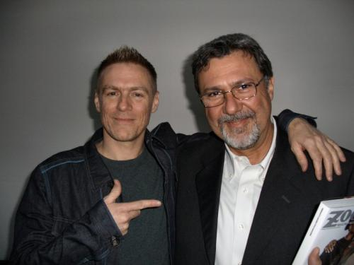 con Bryan Adams, 2006