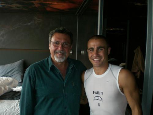 con Fabio Cannavaro, 2006