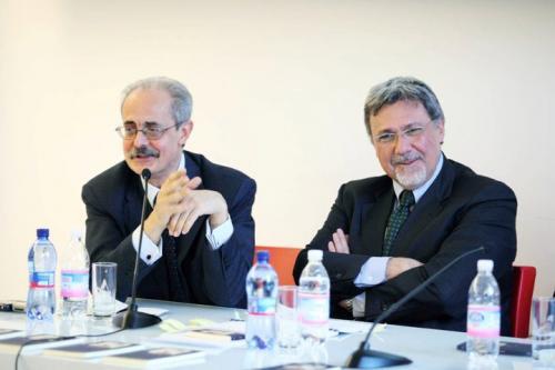 Con Antonio Calabrò