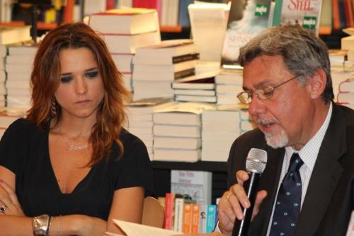 Con Francesca Barra