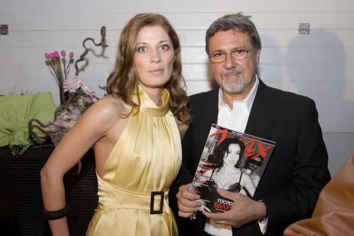 con la Direttrice di Max di Bulgaria