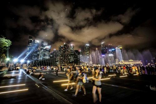 DSC00082Singapore bay night copia